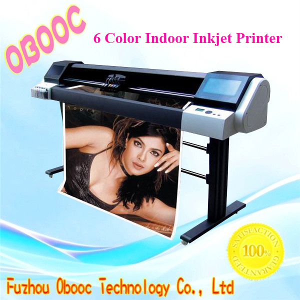 1200*1200 DPI Large Format 6 Color Indoor Inkjet Printer