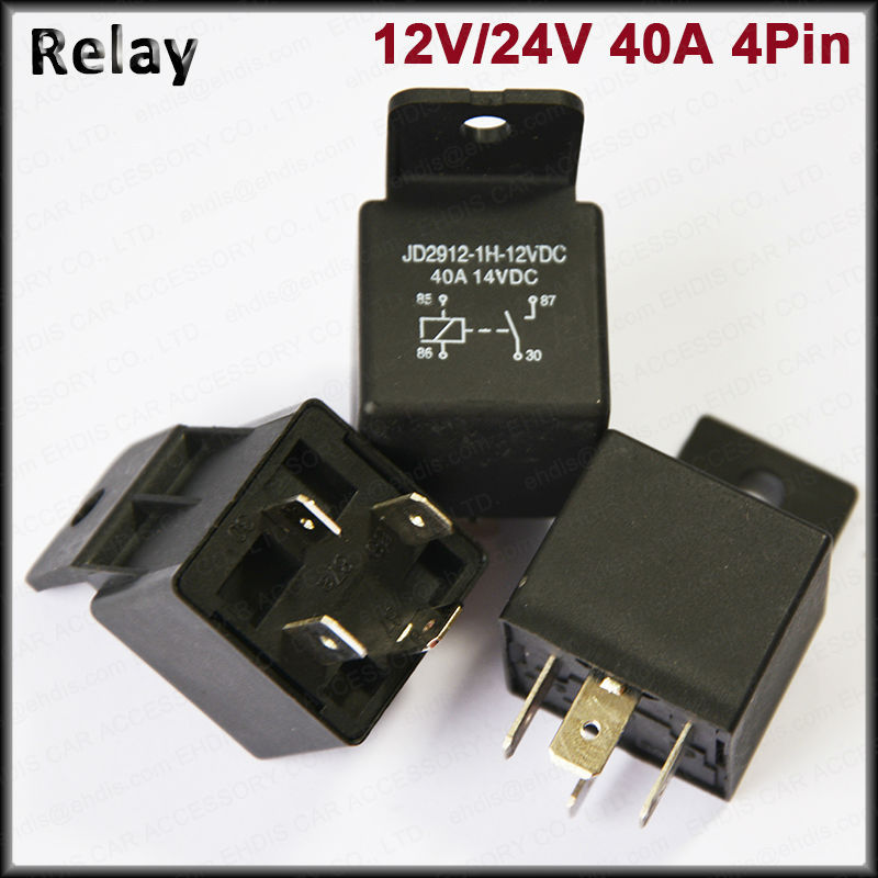 China supplier flasher relay waterproof relay 40A 12V 4Pin in a low price