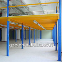 Best Warehouse Storage Anti-corrosion Steel Mezzanine Floor Rack System