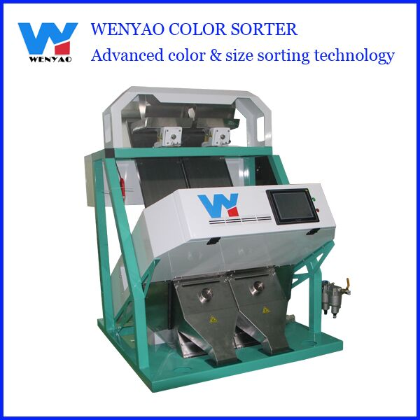 Mini ccd Liquorice color sorter machine/color separation machine