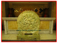 Dragon stone reliefs carving jade