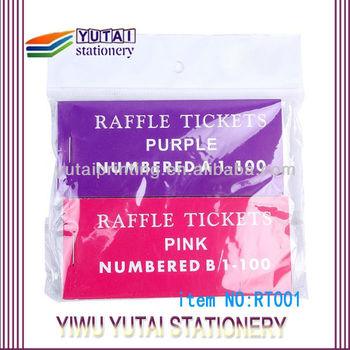 raffle ticket event ticket with perforation line buy raffle