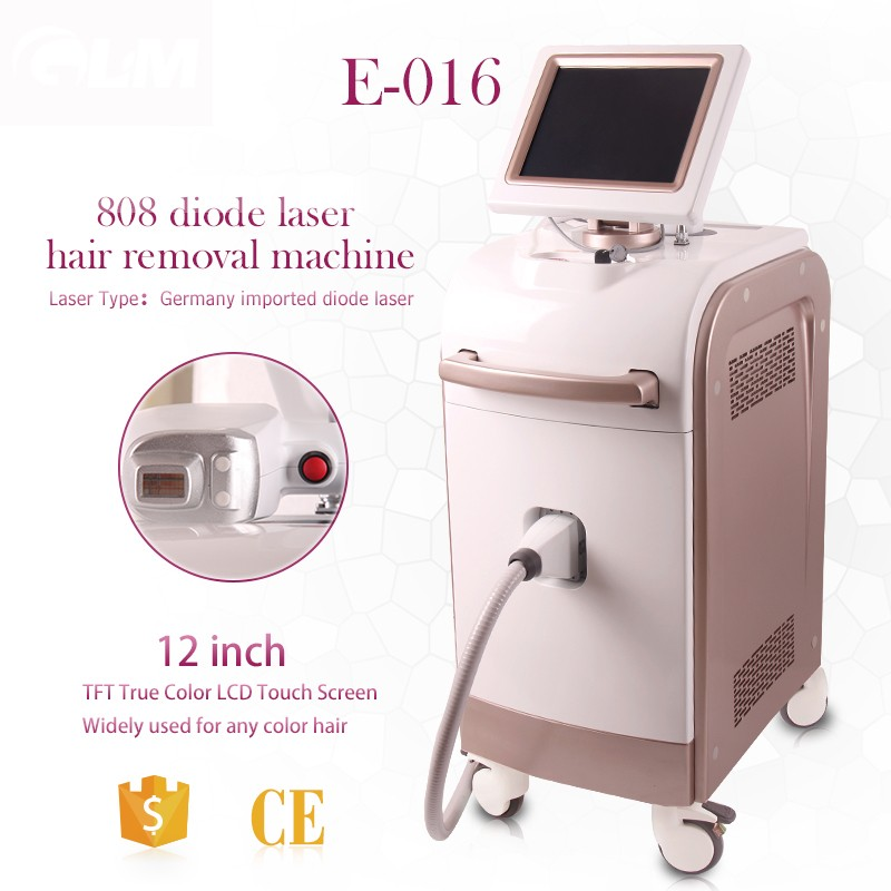 Promotion 2017 Glm Laser 808 Diode Laser Hair Removal Machine