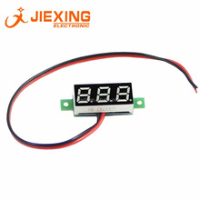 0.28 inç <span class=keywords><strong>LED</strong></span> Ekran DC 2.5-30 V <span class=keywords><strong>Mini</strong></span> Dijital <span class=keywords><strong>Voltmetre</strong></span> V28D 2-wire