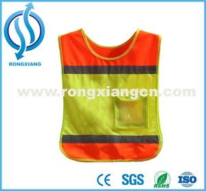 High Quality Safety Vest For Children Kids Security Vest /Student Clothes