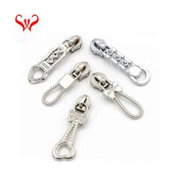 Cheap zipper pulls fashionable custom metal puller bags zip pullers