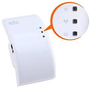 Valinks(TM) 3 Lightings Wireless-n Wifi Repeater 802.11n/b/g Network Router Range Expander 300m 2dbi Antennas Signal Boosters