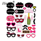 30PCS Single Lady Party Photo Booth Props Panel Hen Party Fun Accessories PFB240