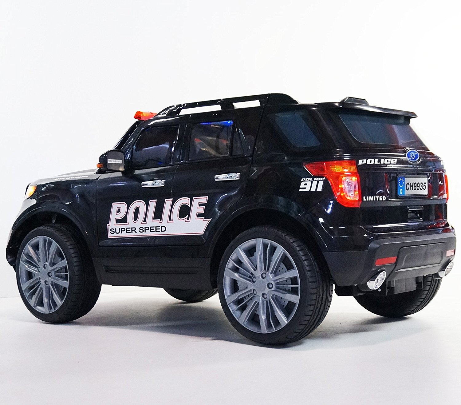 Get Quotations Electric Car Police Ford Style Ride On With Remote Control