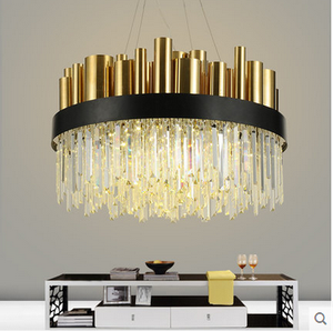 Modern simple crystal design hanging lamp