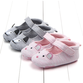 Antiskid Cotton Animal Baby Walking Shoes New Baby Girls First Walkers Newborn Shoes