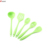 OEM kitchen tools 5 pieces silicone cooking kitchen utensil set