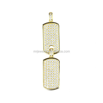 Fashion special designs dubai iced out luxury jewelry set gold fashion special designs dubai iced out luxury jewelry set gold diamond dog tag pendant for men mozeypictures Images