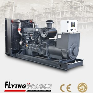 280 KW emergency diesel-electric generator unit, 350 KVA Shangchai power plant with best price
