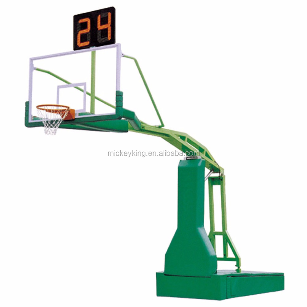International standard Manual hydraulic basketball stand / frame for sale