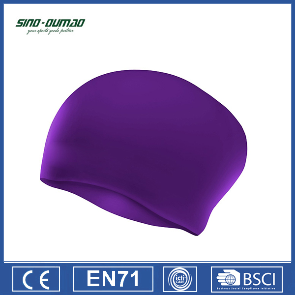 Waterproof Adults Silicone Funny Swimming Cap