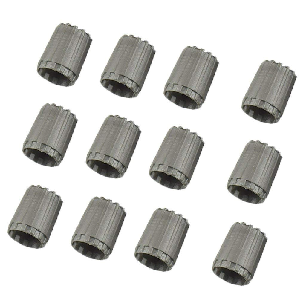 MagiDeal 10 Pieces Tire Rim Wheel Valve Stem Long Cover Caps For TR20008 TPMS Valve