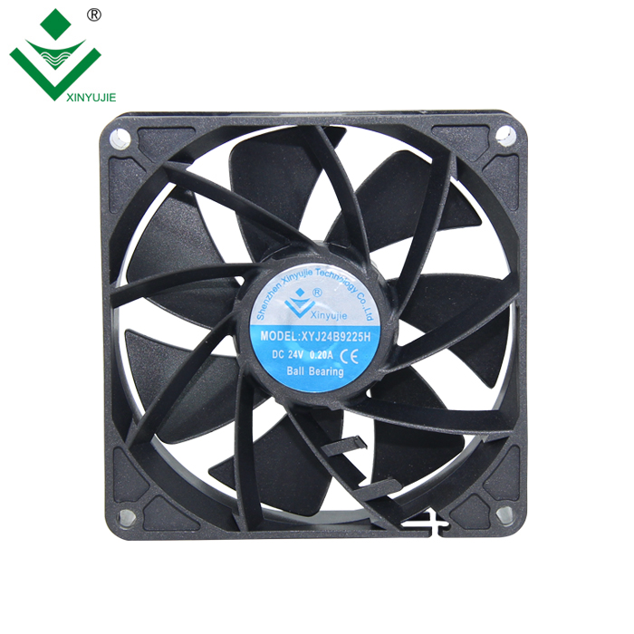9225 12v dc welding machine automotive cooling fan 9225 high speed 18v dc brushless fan motor