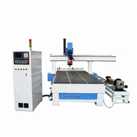 Yaskawa servo motor cnc wood router ATC 1325 1530 2030 , carousel Auto tool changer cnc router with high quality