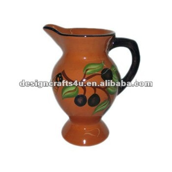 Decorative Clay Pottery Water Pitcher - Buy Clay Pottery Water  Pitcher,Ceramic Water Jug,Ceramic Jugs Product on Alibaba com
