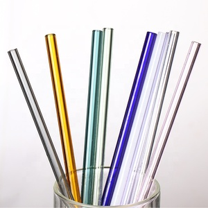 LFGB FDA Glass Drinking Straw