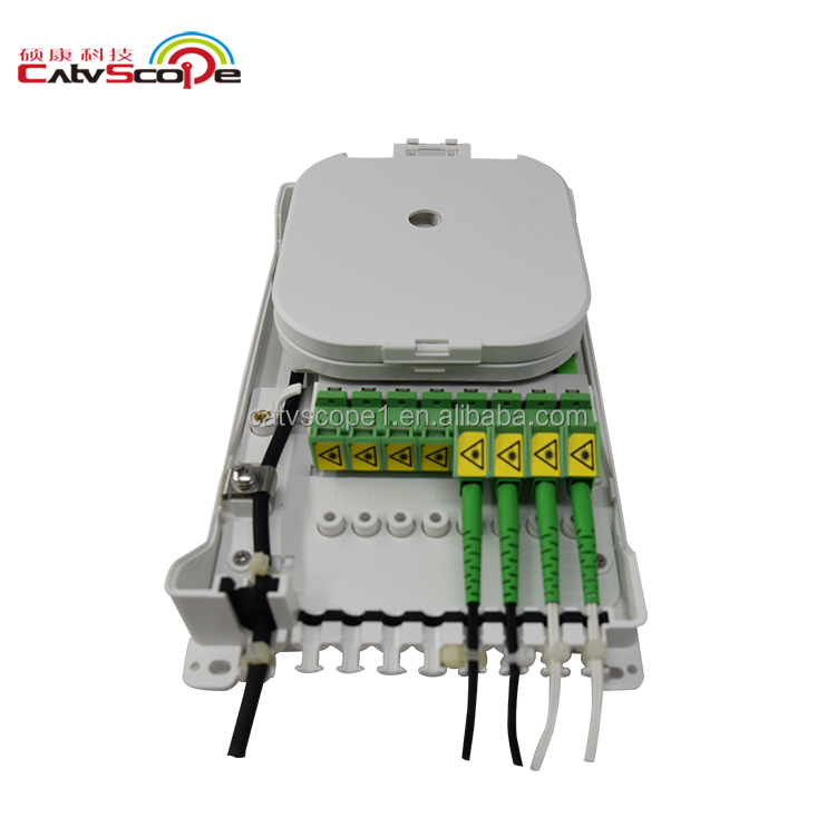 CATVSCOPE HUAWEI FTTH caja FTA-W8S 8 núcleos con plc pigtail patchcord