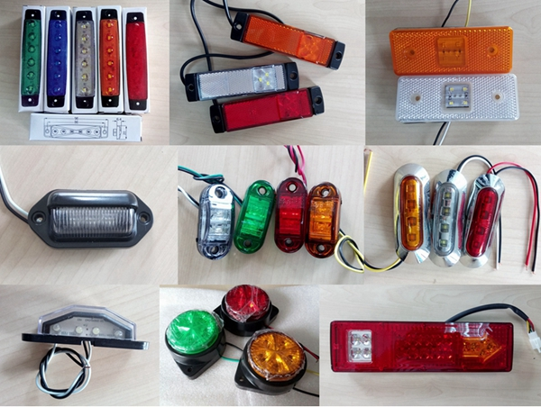 Factory price 6led side marker wholesale 24V/12V led truck side light