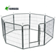 Cheap Poultry farming equipment metal large steel iron dog cage