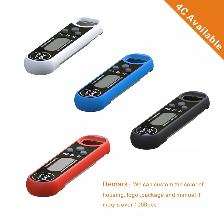 Backlight Function Waterproof Digital Meat Super Fast Instant Read BBQ Thermometer