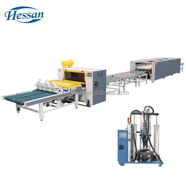 Avoiding the long time pressing board making laminating machine for sale