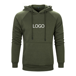 Men's blank hoodie. Factory direct sale Pure color fleece Thermal transfer custom logo printing design