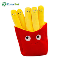 Wholesale chips custom-designed cute food shaped plush toys