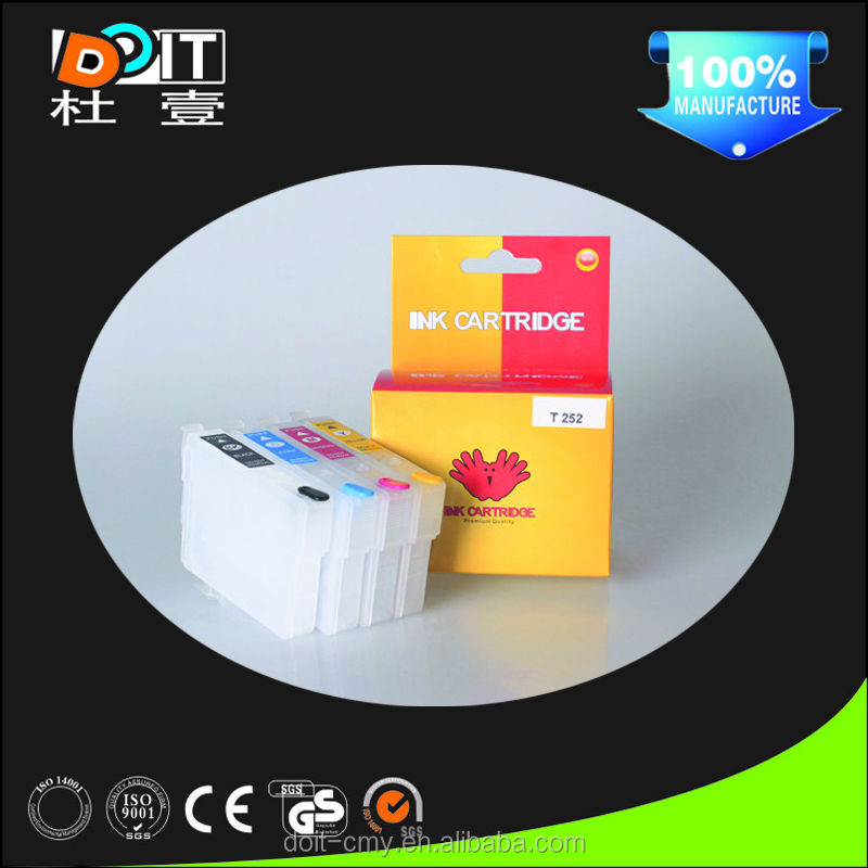 Factory price ink cartridge for epson wf 3640