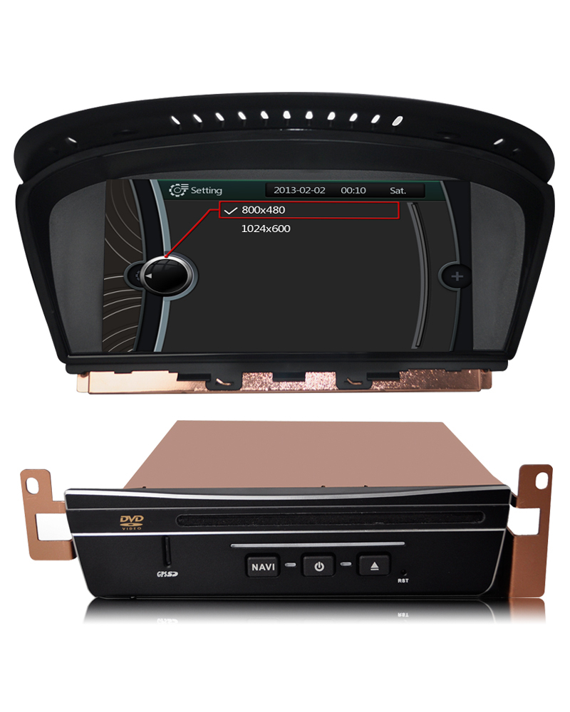 PENHUI PEIMA II Car DVD for 5 Series E60 E61 E63 E64 (2003 to 2010) Support DVR+ AV-in+Bluetooth+USB