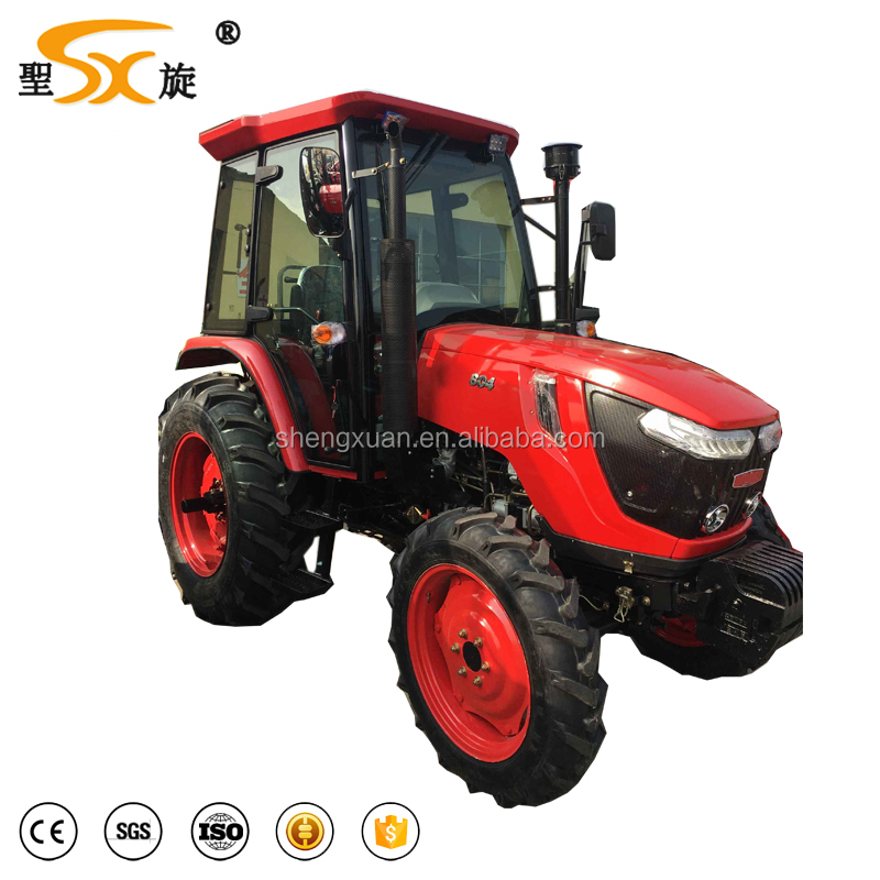 new condition CE approved 50hp 4wd farm tractor with implements