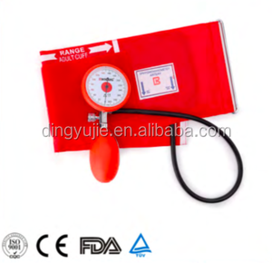 2018 New design High accuracy one tube Palm type Aneroid Sphygmomanometer/blood pressure monitor