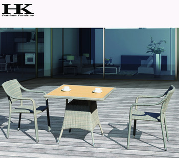 Skillful manufacture furniture rattan set garden chairs and tables