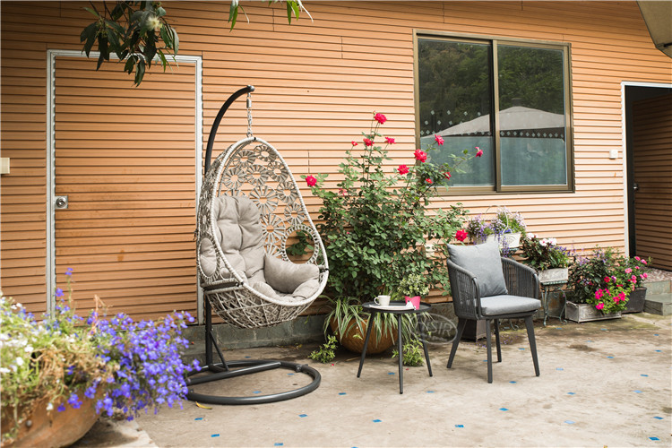 In stock wilson and fisher patio furniture outdoor rope bistro table chair set