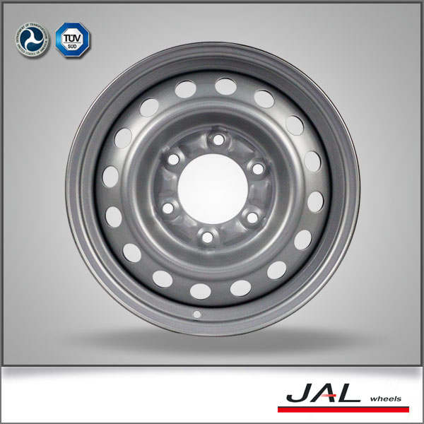 Widely Used Car Steel Wheels 15x6.5 Wheels 6x139.7 Wheel Rims