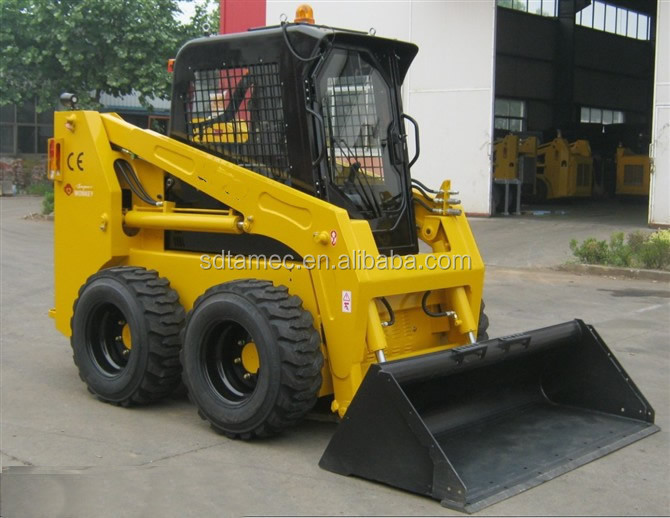 Skid steer loader JC95, china bobcat, potência do motor 100hp, capacidade de carga 1200 kg