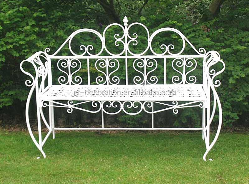 Muebles swing jard n de hierro forjado bancos para venta for Muebles de jardin de hierro forjado