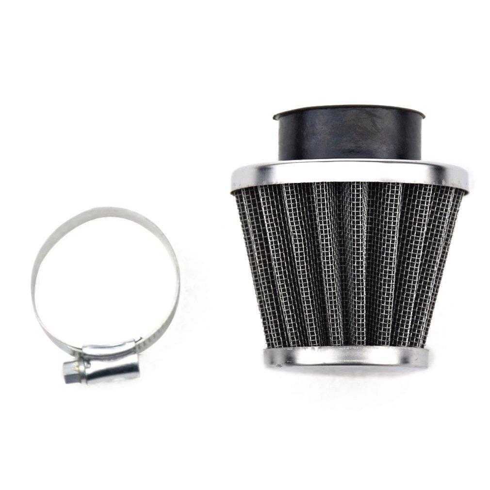 HIAORS 35mm Air Filter Cleaner for Kazuma Meerkat Kids 50cc 70cc 110cc 125cc TaoTao Buyang Coolsport Coolster 3050A 3050AX 3050B Lifan ATV Dirt Pit Bike Honda CB100 CB125 CB160 CB175