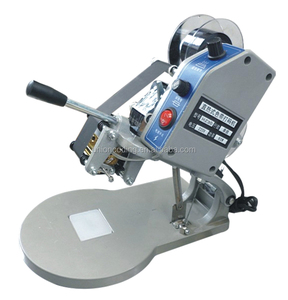 Model DY-8 Manual Small Hot Stamp Date handheld coding machine for plastic bags