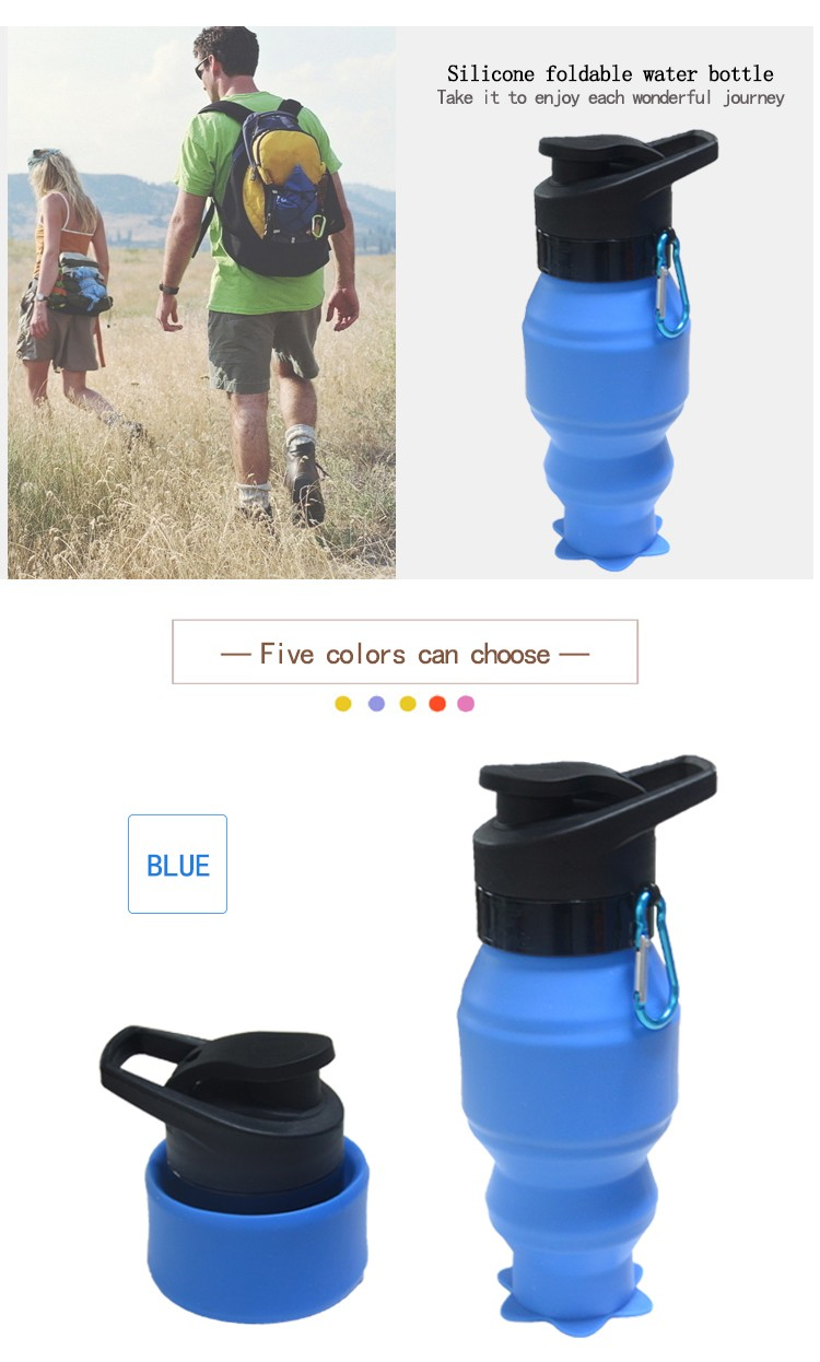 Best Bottled Water To Drink Portable Collapsible Sports Cycling Water Bottles 750ml