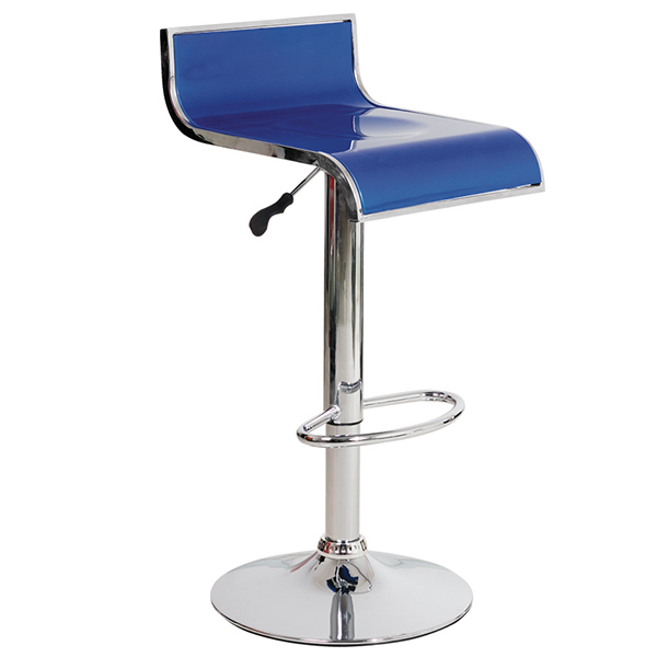 Sell well leisure swivel modern design plastic chair