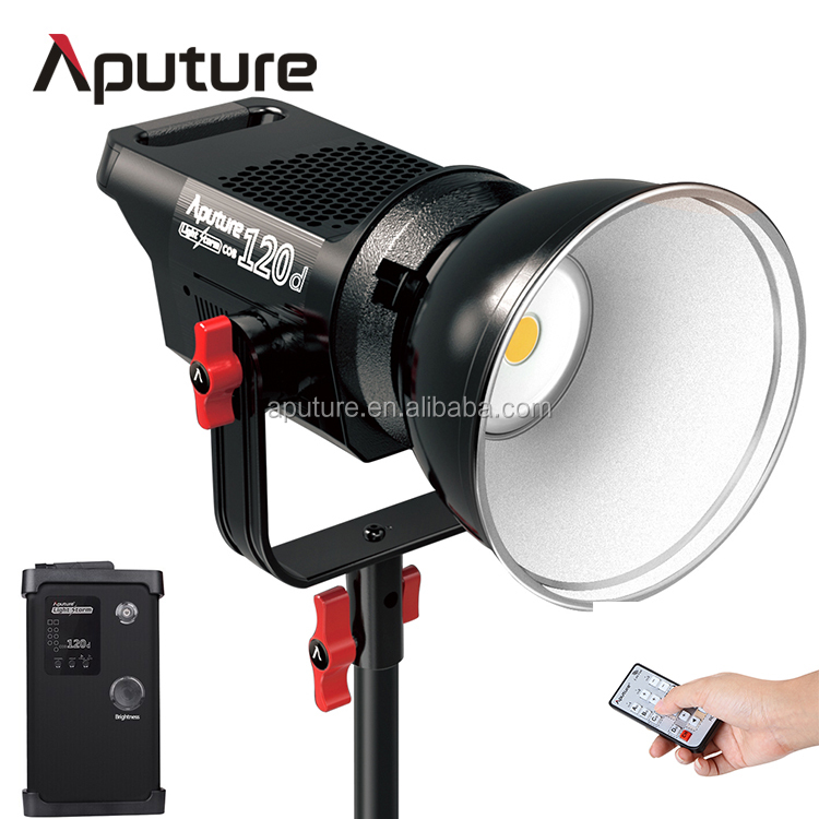 Aputure daylight version LS C120d studio TLCI/CRI 96 LED Video light, Studio Continuous light