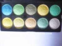 10 colors shine eye shadow OEM