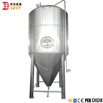 500 Gallon Glycol Jacket Conical Beer Fermenter With Cheaper Price