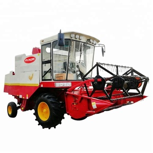 Self-Propelled small rice / wheat grain harvester for sale