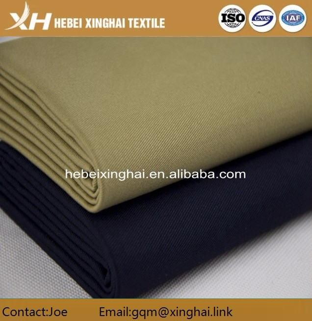 Woven Technics and Make-to-Order Supply Type poly cotton twill fabric